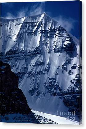 Jasper - Mt. Andromeda Canvas Print by Terry Elniski