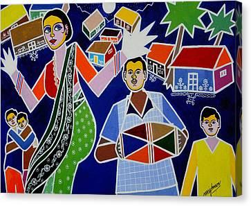 Jatara Canvas Print by Johnson Moya