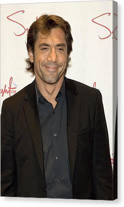 Javier Bardem At Arrivals For 73rd New Canvas Print