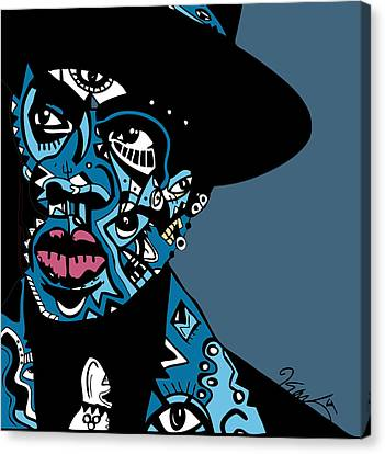 Jay Z  Full Color Canvas Print by Kamoni Khem