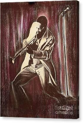 Jazz Canvas Print by Anastasis  Anastasi