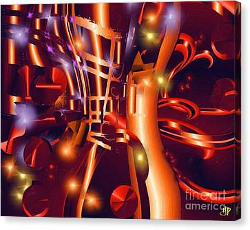 Jazz And Light Canvas Print by Hai Pham