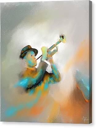 Jazz  Canvas Print by Larry Cirigliano