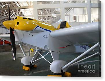 Jdt Mini Max 1600r . Eros . Single Engine Propeller Kit Airplane . 7d11169 Canvas Print by Wingsdomain Art and Photography