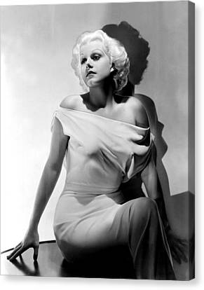Jean Harlow Canvas Print by Everett