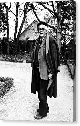 Jean Piaget, Author, 1974 Canvas Print by Everett