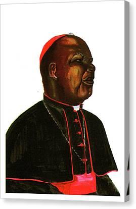 Jean Zoa Canvas Print by Emmanuel Baliyanga