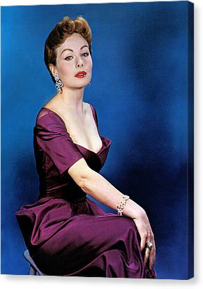 Jeanne Crain, 1953 Canvas Print