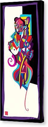 Jeanne2 Canvas Print by Vladimir Stanisevic