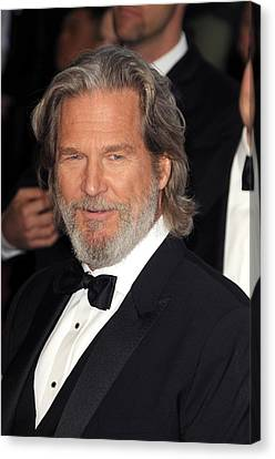 Jeff Bridges At Arrivals For The 83rd Canvas Print by Everett