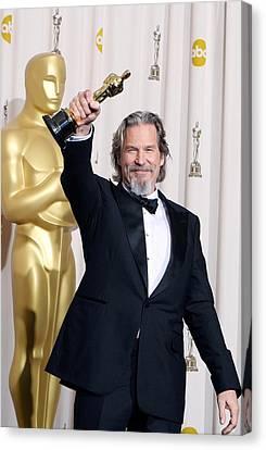 Jeff Bridges, Best Actor For Crazy Canvas Print by Everett