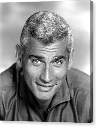 Jeff Chandler, Ca. Late 1950s Canvas Print by Everett