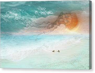 Jelly Sun Canvas Print