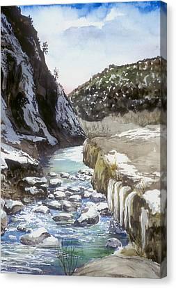 Jemez Springs Nm Canvas Print