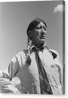 Jerry Mirabel 1870-1980, Pueblo Indian Canvas Print