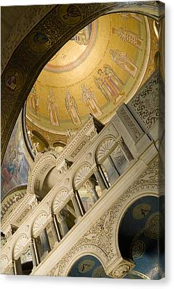 Jerusalem, Israel, Church Of The Holy Canvas Print by Richard Nowitz
