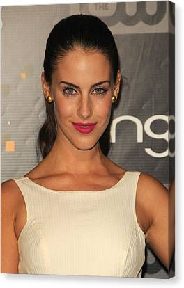 Jessica Lowndes At Arrivals For Bing Canvas Print
