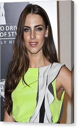 Jessica Lowndes At Arrivals For Rodeo Canvas Print