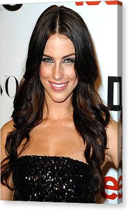 Jessica Lowndes At Arrivals For Seventh Canvas Print