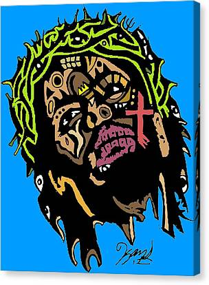 Jesus Christ Canvas Print by Kamoni Khem