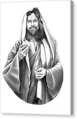 Jesus Christ Canvas Print by Murphy Elliott