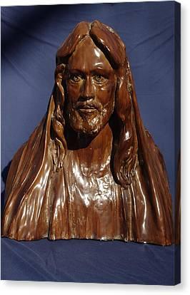 Jesus Of Nazareth Canvas Print by Rick Ahlvers