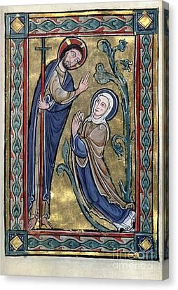 Jesus: Resurrection Canvas Print by Granger