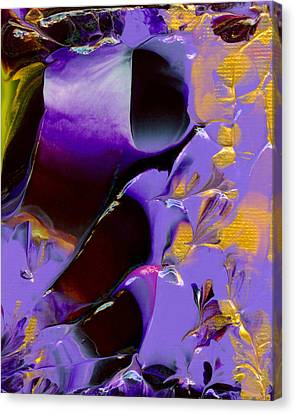 Jeweled Amethyst Canvas Print by Nan Bilden