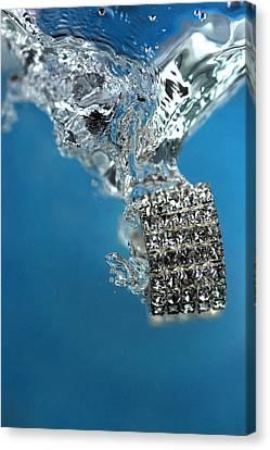 Gold Bracelet Canvas Print - Jewelry by Mark Ashkenazi