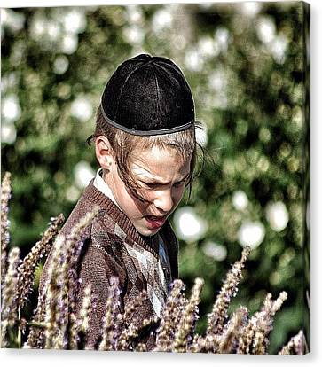 Jewish Boy - New York Canvas Print