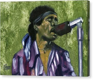 Jimi 2 Canvas Print