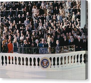 Jimmy Carters 1976 Inauguration Canvas Print by Everett