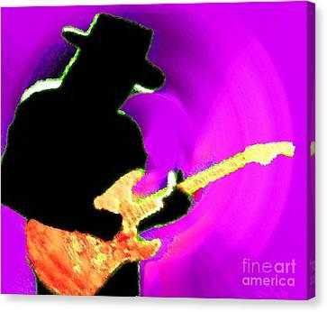 Jimmy Page Nixo Canvas Print by Nicholas Nixo