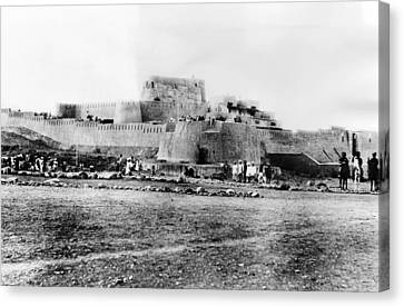 Jimrud Fort In The Khyber Pass Canvas Print