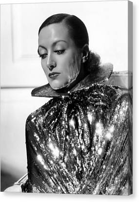 Joan Crawford, 1934, Photo By Hurrell Canvas Print by Everett