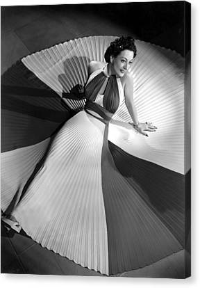Joan Crawford, 42340 Canvas Print by Everett