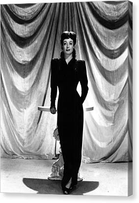 Joan Crawford, Ca. 1940s Canvas Print by Everett