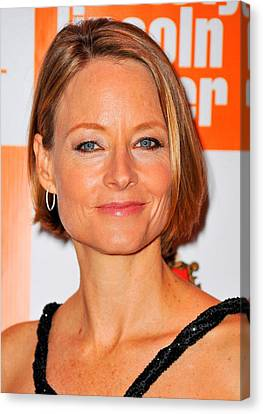 Jodie Foster At Arrivals For Carnage Canvas Print by Everett