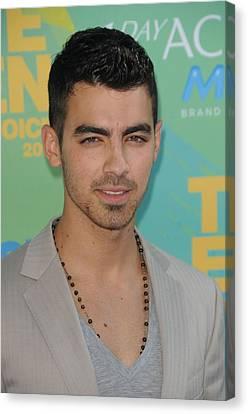 Joe Jonas At Arrivals For 2011 Teen Canvas Print