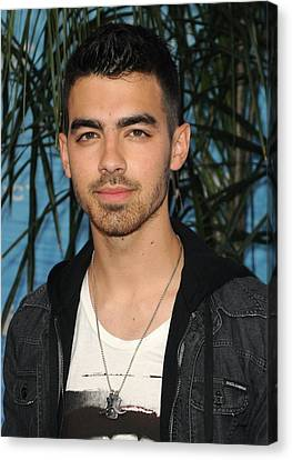 Joe Jonas At Arrivals For Soul Surfer Canvas Print