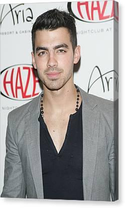 Joe Jonas In Attendance For Joe Jonas Canvas Print by Everett