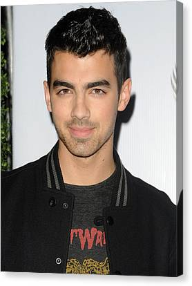 Joe Jonas In Attendance For The 7th Canvas Print by Everett