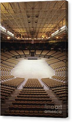 Joel Coliseum In Winston-salem, North Carolina Canvas Print