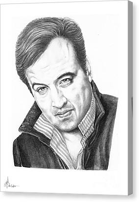 John Belushi Canvas Print by Murphy Elliott