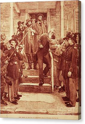 John Brown: Execution Canvas Print by Granger