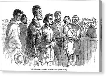John Brown Trial, 1859 Canvas Print by Granger