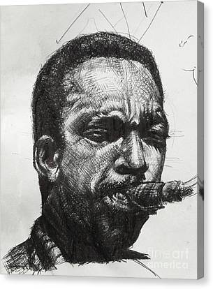 John Coltrane Canvas Print