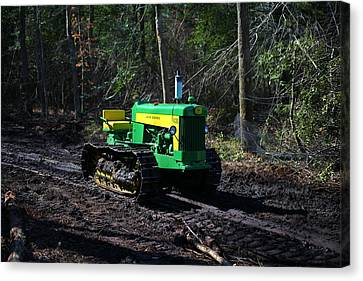John Deere Tractor Model 430      Canvas Print