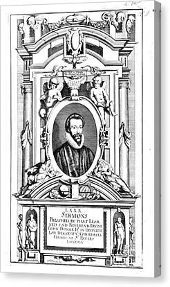 John Donne (1573-1631) Canvas Print by Granger