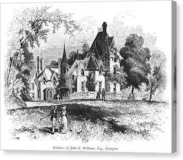 John E. Williams Residence Canvas Print by Granger
